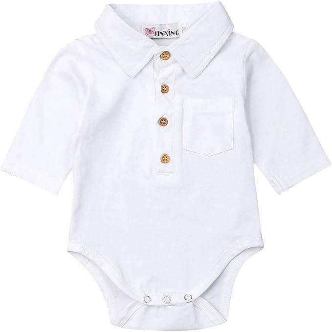 Mameluco Body de Bebé Recién Nacido Caballero Bodysuit Polo para ...