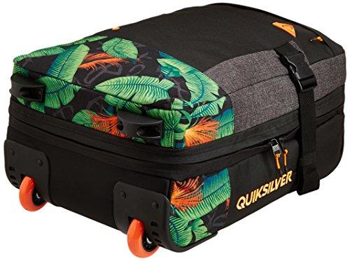 Quiksilver Herren Rollenkoffer Short Delay Wheeled Suitcase, AG47 Remix Black, 47 x 33 x 22 cm, 37 Liter, EQYBL03017-KVJ6