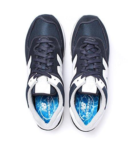 Bleu marine Sneaker Balance New Uomo NBML574MON ZFInf