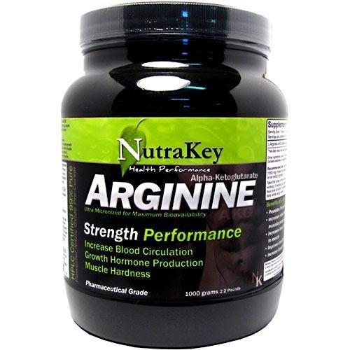 Arginine, 1000 g by NUTRAKEY by NUTRAKEY