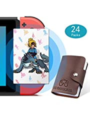 Botw NFC Tag Game Cards for the Legend of Zelda Breath of the Wild Compatible with Switch/Wii U - 24pcs Standard Cards with Holder