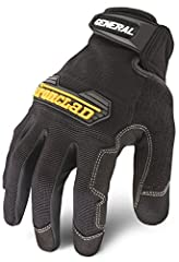 Medium, general utility, a comfortable form fitting glove designed for a variety of tasks, machine washable/air dry, protected knuckle area reinforced palm & fingertips.