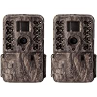 Moultrie M-40i 16MP 80 FHD Video No Glow Game Trail Camera, 2 Pack | MCG-13182