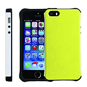 [ManiaGear] SLIM Rugged Hybrid Image Protector Cover (Banana) for Iphone 5 / 5S