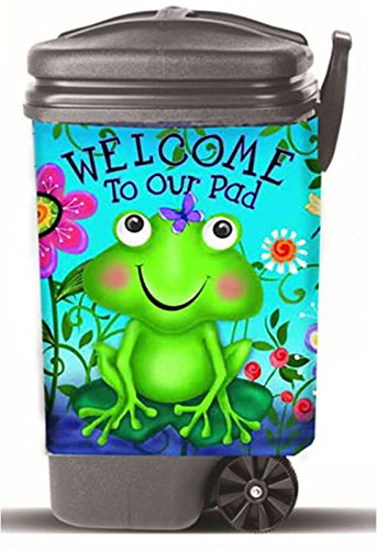 frog trash can - 9