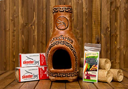 Redi-Flame Woodshed Renewables Chiminea