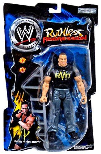 (Jakks Pacific WWE Wrestling Ruthless Aggression Series 3 Rob Van Dam Action)