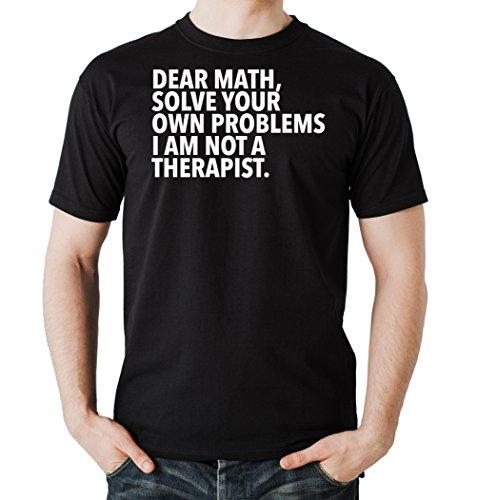Dear Math Solve... T-Shirt Black Certified Freak