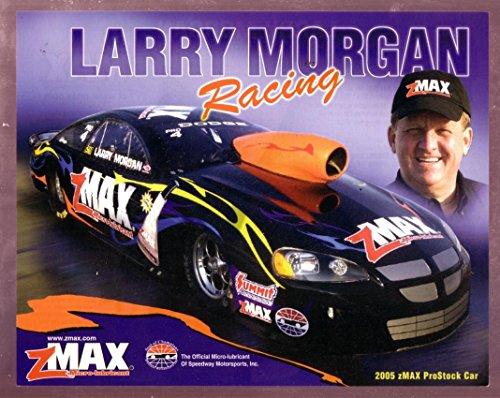 LARRY MORGAN NHRA HERO CARD PRO STOCK RACING 2005 - Pro Stock Nhra 2005