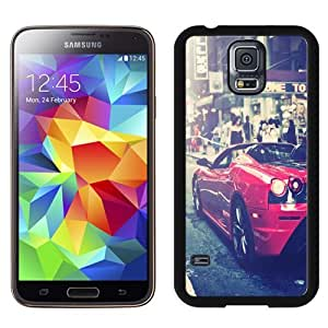 Easy use Cell Phone Case Design with Ferrari F430 Urban Shot Galaxy S5 Wallpaper