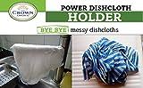 BEST Dish Cloth Holder Caddy for Kitchen Sink