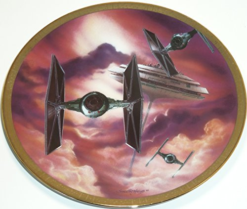 Star Wars Collector Plate The Fighters Space Vehicles Hamilton Collection 1995