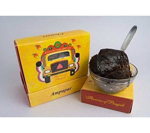 Price comparison product image Classic Kaala Aam papar Amawat 7 Ounce Indian Dried fruit MangoPulp Homemade Aam Papad