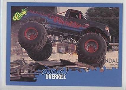 Amazon Com Overkill Trading Card 1990 Classic Monster Trucks