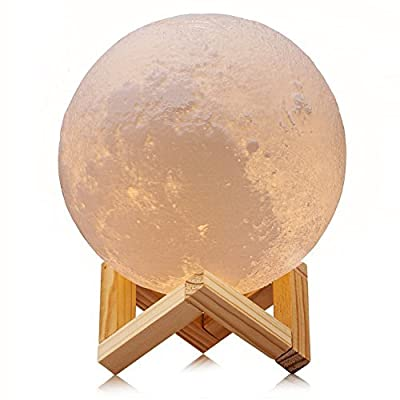 ACED 3D Printed Moon Night Light Lamp