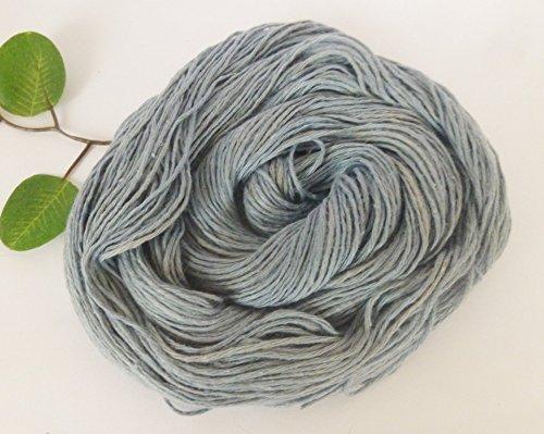- Gray Blue Cotton Sport / Fingering Sock Yarn