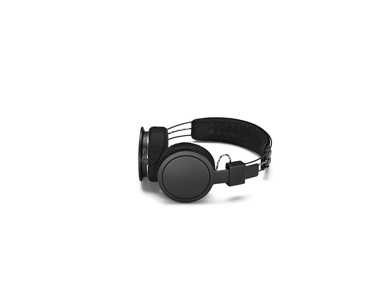 Urbanears Hellas On-Ear Active Wireless Bluetooth Headphones, Black Belt (4091227) by Urbanears