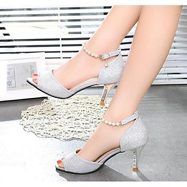 LvYuan-GGX Damen High Heels Komfort Pumps PU Sommer Sommer Sommer Normal Komfort Pumps Gold Silber 2,5-4,5 cm Gold us8.5   eu39   uk6.5   cn40 6df53d