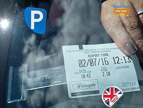 3 opinioni per Tikettak -Porta biglietti e note per parabrezza di auto, camper, caravan (aiuta
