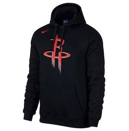 1ef2dea67f9 Amazon.com : Nike Women's Houston Rockets Fleece NBA Hoodie Black ...