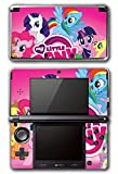 My Little Pony Friendship is Magic MLP Pinkie Pie Rarity Rainbow Dash Twilight Sparkle Applejack Video Game Vinyl Decal Skin Sticker Cover for Original Nintendo 3DS System