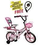Speed Bird Cycle Industries Speed Bird Robust 14-T - Baby Cycle For Boys & Girls - Age Group 3-6 Years (Color Pink)