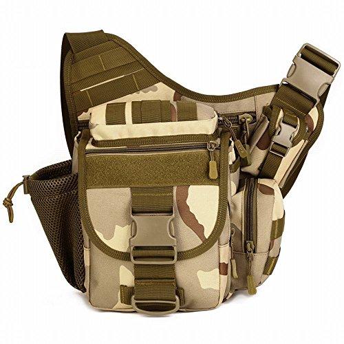 Hung Kai cámara SLR de alta capacidad especial 8 colores camo impermeable a prueba de golpes bolsa de hombro bolso de la cámara de fotografía salvaje bolsa de múltiples funciones de la cámara Sansha Camo