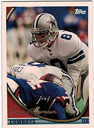 07d471361d8 Amazon.com: 1994 Topps Dallas Cowboys Team Set with 3 Troy Aikman & 4  Emmitt Smith - 31 NFL Cards: Collectibles & Fine Art