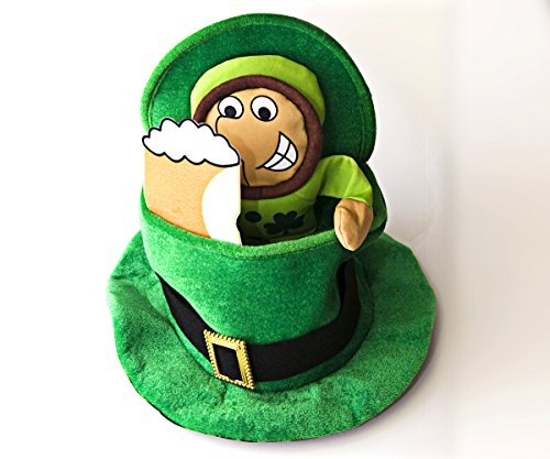 Saint Patrick's Day Leprechaun Hat. Unique Design to