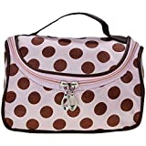 Women Purse - Casual Lady Work Bag Travel Makeup Cosmetic Bag Handbag(Pink)