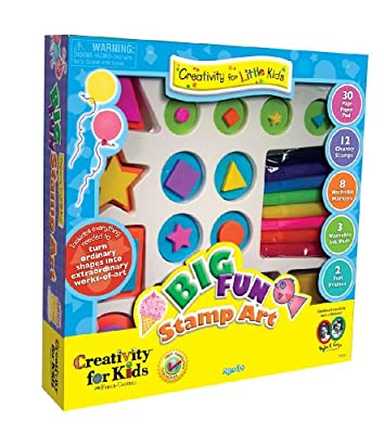 Faber Castell Creativity For Kids Big Fun Stamp Art Kit by Faber and Castell