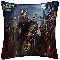 JIKF-shirt 3D Print Decorative Linen Cushion Cover for Sofa Chair Throw Pillow Case 16 45x45cm