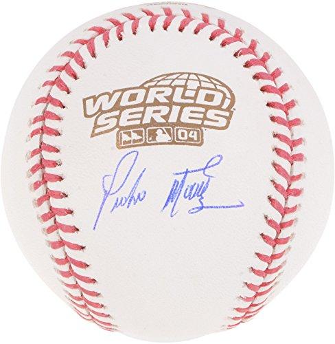 Pedro Martinez Boston Red Sox Autographed 2004 World Series Logo Baseball - Fanatics Authentic (Martinez Autographed Mlb Baseball)