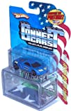 Hot Wheels 2008 Connect Cars Series 1:64 Scale Die Cast Car with Display Case #10 of 50 - Virginia Norfolk Patrol Blue Sport Coupe Cadillac Cien Concept Car