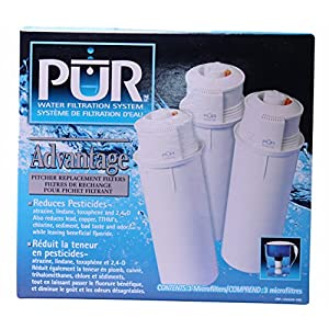 Pur Advantage Pitcher Replacement Filters, 3 Pack