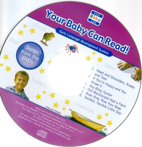 Price comparison product image Your Baby Can Read! Songs From the Dvds