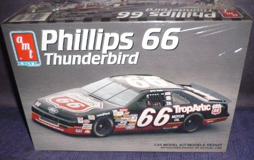 8754 Amt Ertl Chad Little Phillips 66 Thunderbird 1 25 Scale Plastic Model Kit