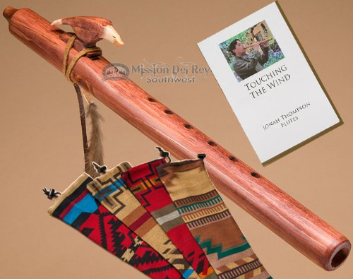 Native American Flute Pack -Walnut Eagle by Jonah Thompson Flutes