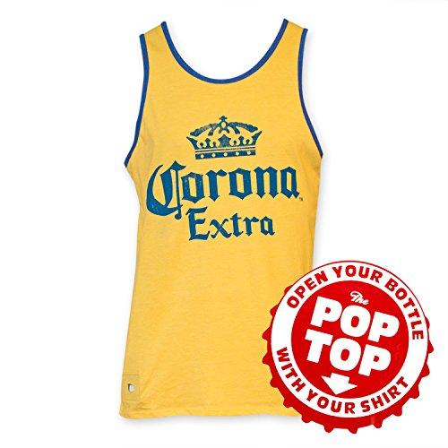 Corona Extra Mens Pop Tank