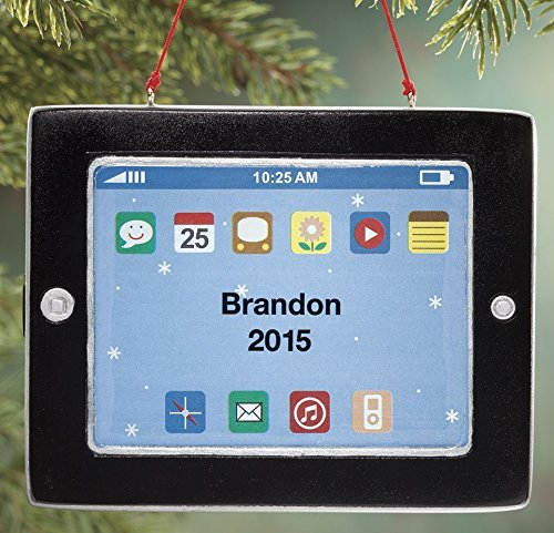 Miles Kimball Personalized Tablet Ornament
