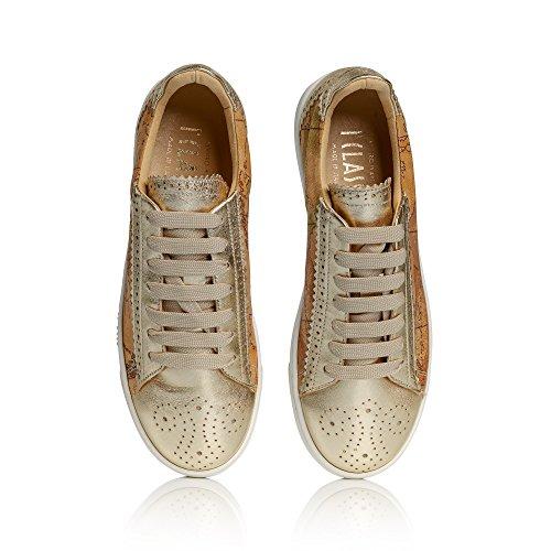 ALVIERO Lona de Zapatillas MARTINI Mujer dorado Para CLASSE 1 gw6ZrBg