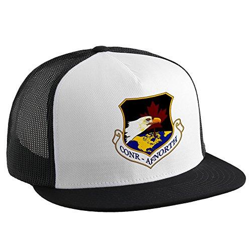 ExpressItBest Trucker Hat with U.S. Air Force US NORAD Region Northern (CONR-AFNORTH),
