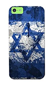 Flag Of Israel Case Compatible With Iphone 5c/ Hot Protection Case(best Gift Choice For Lovers)
