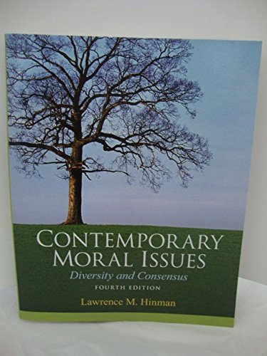 Download Contemporary Moral Issues Diversity and Consensus pdf