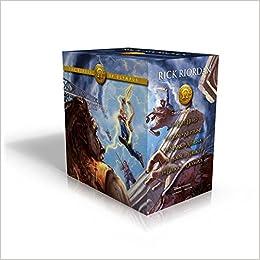Amazon The Heroes Of Olympus Paperback Boxed Set 9781484777923 Rick Riordan John Rocco Books