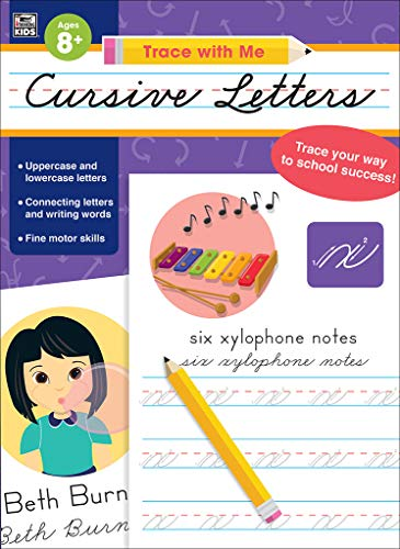 - Trace with Me Cursive Letters