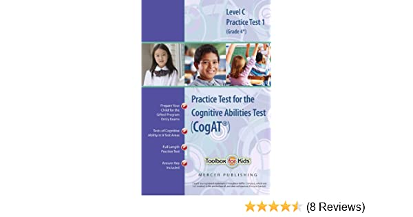 Cognitive Abilities Test Cogat Multilevel C Book Grade 4