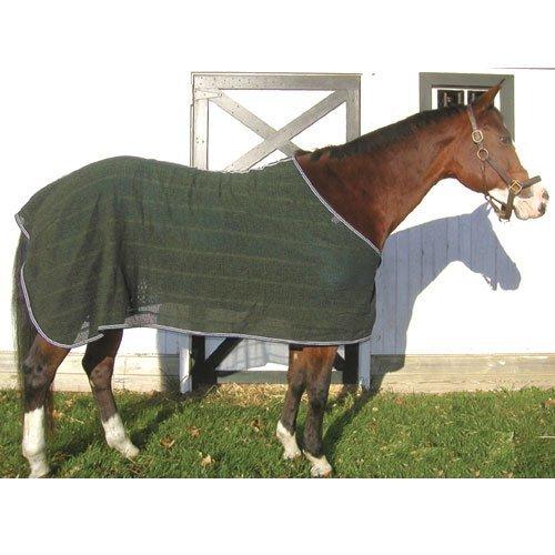 High Spirit Irish Knit Anti Sweat Sheet, X-Large, Hunter Green