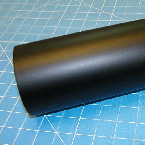 12 x 10 Ft Roll of Oracal 751 Matte Black Vinyl for Craft Cutters and Vinyl Sign Cutters