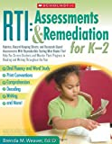 RTI Assessments and Remediation for K-2, Brenda Weaver, 0545160421